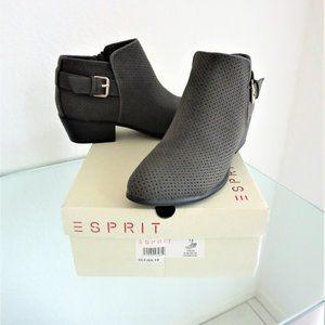ESPIRIT TALIA Charcoal Grey Boots Near New